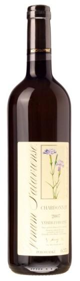 Chardonnay 2007, výběrzhroznů