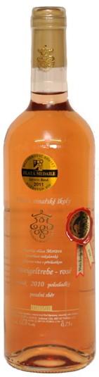 Zweigeltrebe rosé 2012, pozdnísběr