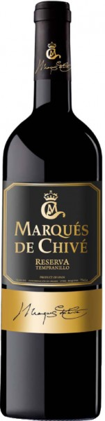 Tempranillo Marqués de Chivé Reserva 2014