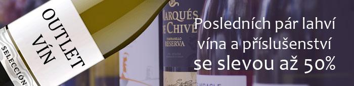 Outlet vín